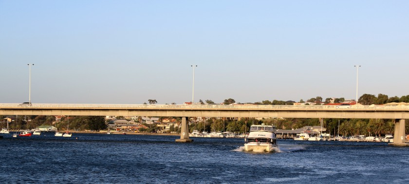 MV Cygnus - Approaching East Street Jetty, Fremantle, WA