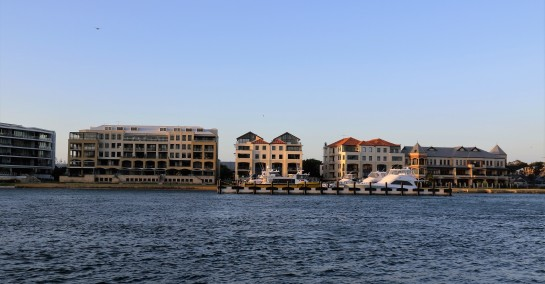 Posh Pads - Swan River, opposite East Street Jetty, Fremantle, WA