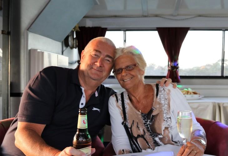 Gerry and I - Swan River Cruise, WA