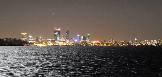 Perth City Skyline - Viewed from the Swan River