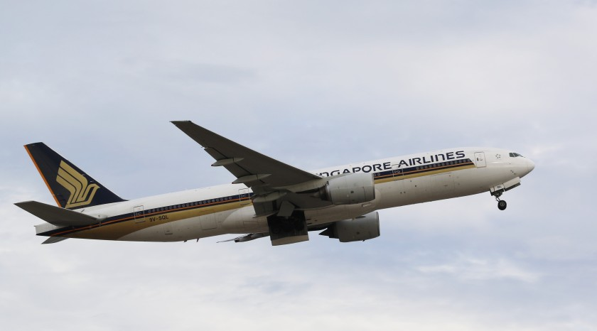 Boeing 777 - 9V-SQL Operated by Singapore Airlines