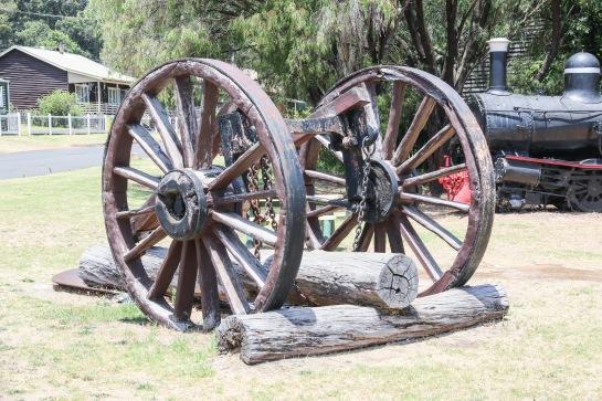 Log Carriage c1914 - Pemberton, WA