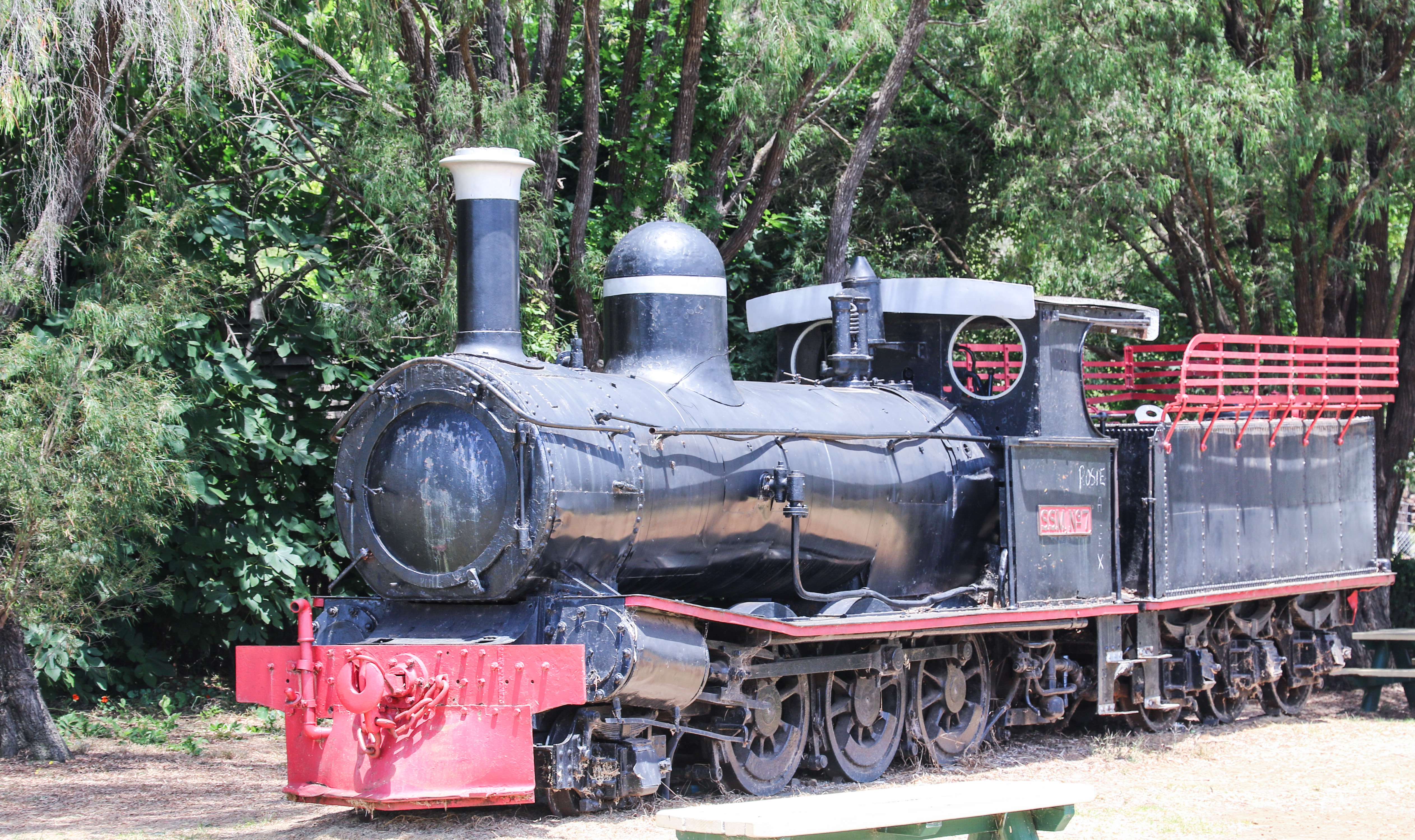 Steam Locomotive c1914 - Pemberton, WA