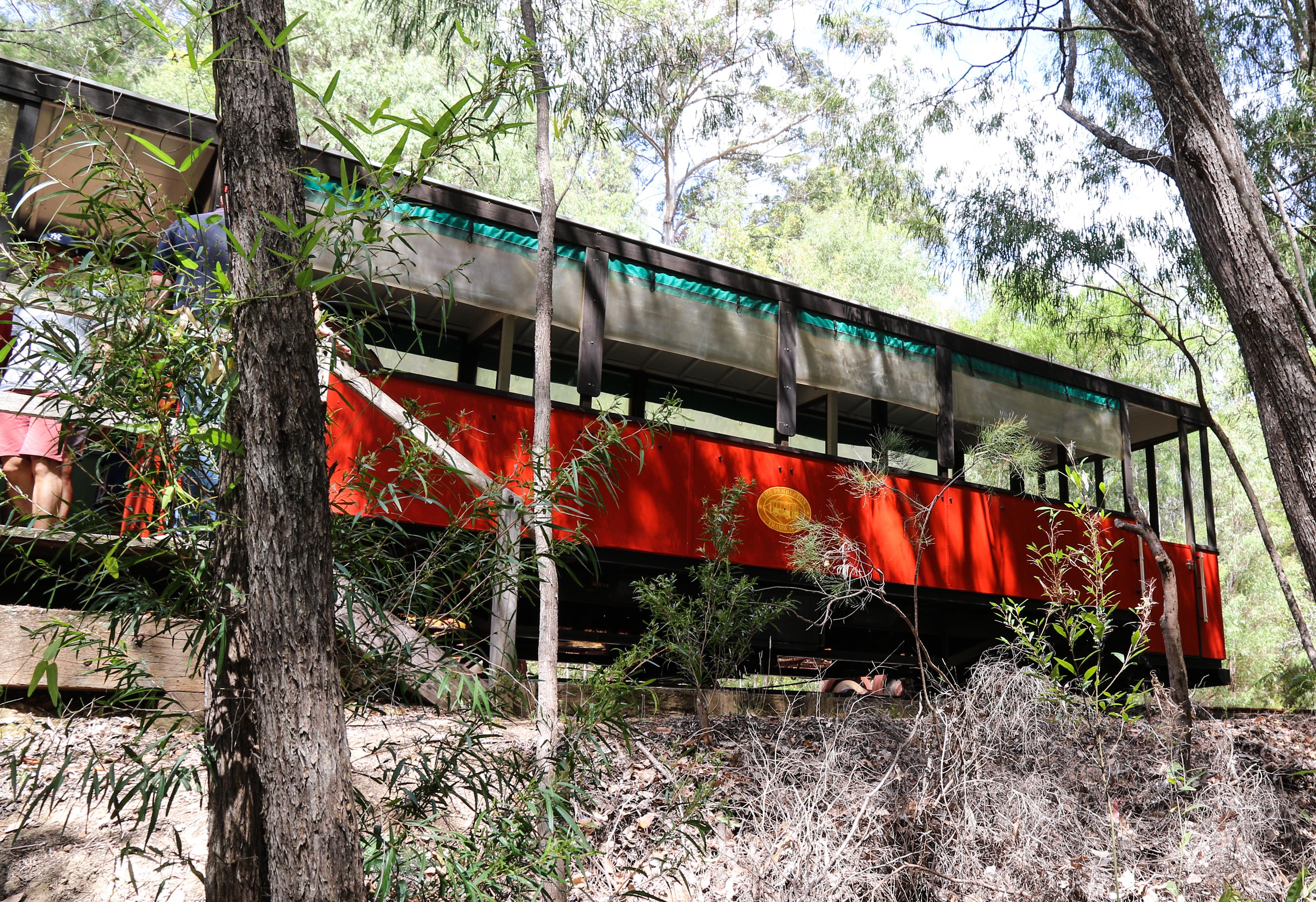 Tram - Cascades, Pemberton, WA