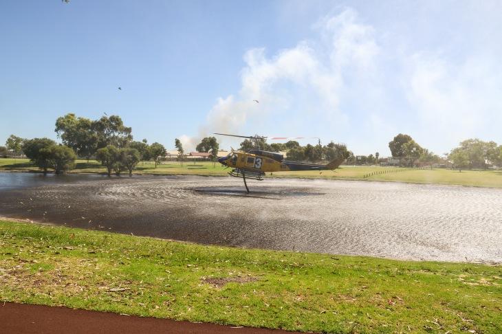 We All Got Wet - Bell 214B Big Lifter - Operated by McDermott Aviation