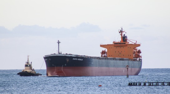 Santa Roslia - Bulk Carrier entering Geraldton