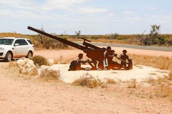 Roadside Marker - Operation Potshot Memorial