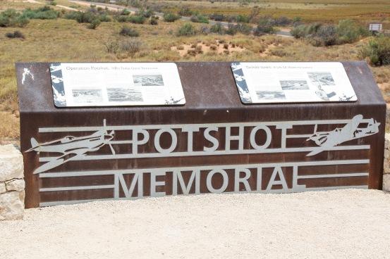 Memorial Marker - Operation Potshot