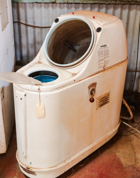 Early Dalek ? Nope Washing M/C & Spin Dryer - New Norcia, WA