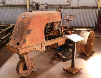 Newman Tractor c1947/8 - New Norcia, WA