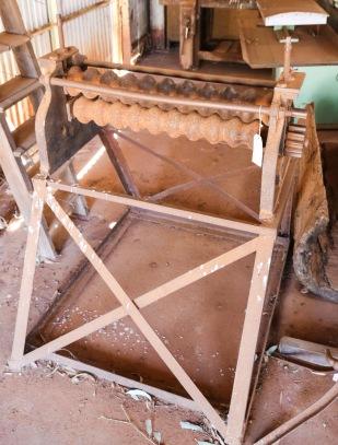 Corrugated Iron Roller - New Norcia, WA