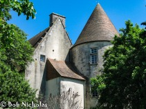 Chateau, Barbezieres, France