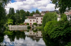 Reflections, Ruffec, France