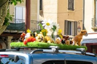 Wedding Car - Millau, France