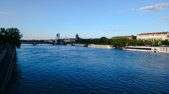 River view - Lyon, France