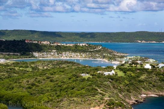 Antigua - View across Mamora Bay & St James Bay
