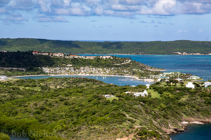 Antigua - View across Mamora Bay & St James Bay
