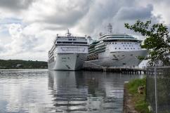 Antigua - Serenade of the Seas with MSC Armonia