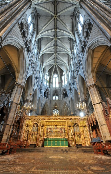 The High Alter - Westminster Abbey
