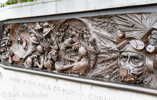 Battle of Britain Memorial - London