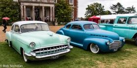 1954 Chevrolet alongside a 1941 Chevrolet