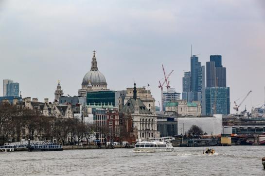 Thames River Scene