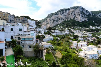 Capri - View from Top Terminus of Funicolare