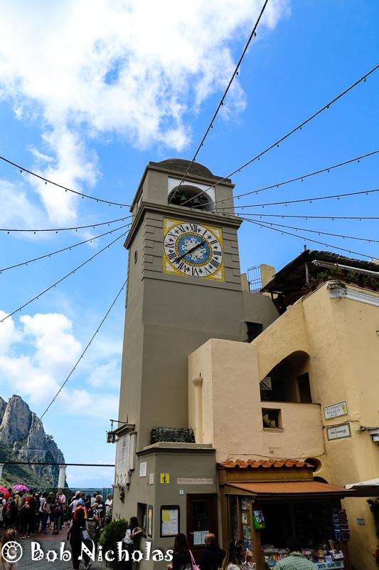 Capri - Clock Tower Piazza Umberto I