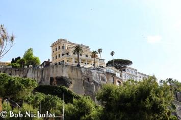 Sorrento - View up to Sorrento from Marina Piccola