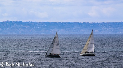 Sails Across The Bay Of Naples