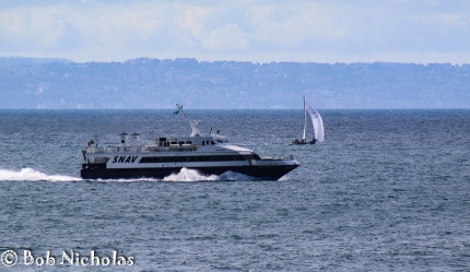 Ferry Boat - Possibly from Capri heading into Castellammare di Stabia