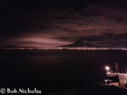 Vesuvius by night