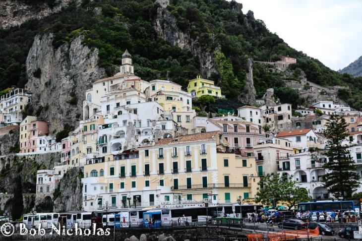 I Want The Yellow Villa - Amalfi