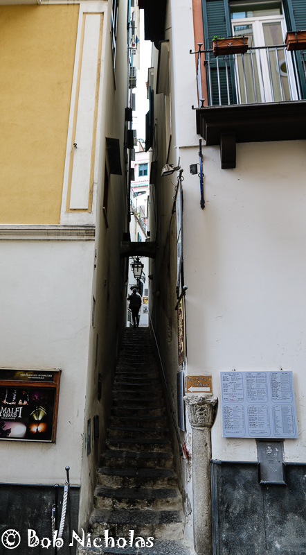 Narrow Steps - Amalfi