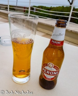 Gotta Love A Peroni - My First Beer Of Our Stay In Italy