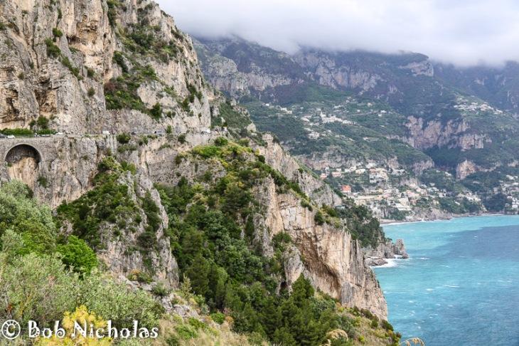 Coastal Road - Near Positano