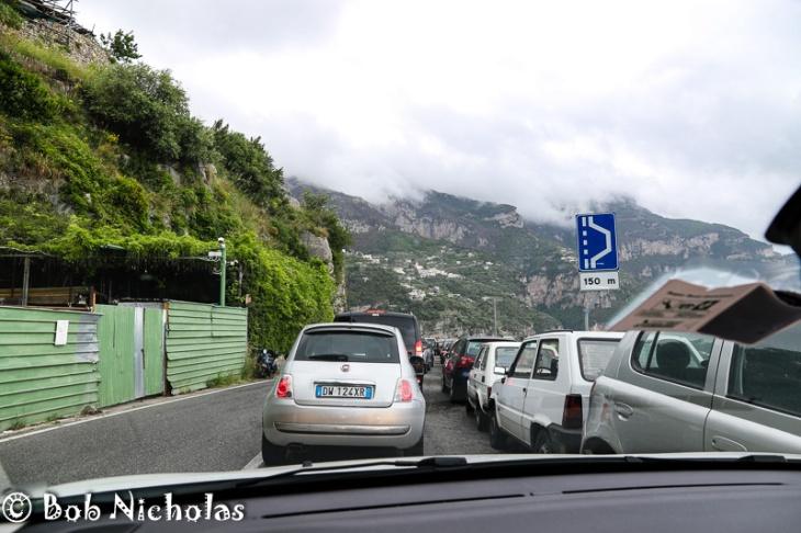 Queuing Outside Positano