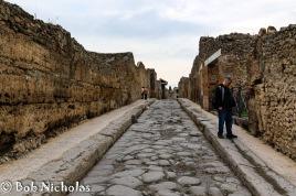 Pompeii - Street scene