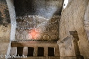 Pompeii - Stabian Baths, Ceiling of the Apodyterium