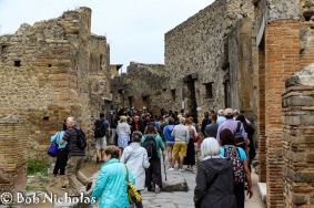 Pompeii - Just look at the queues for the brothel (Lupanare)