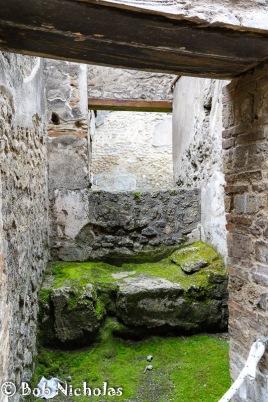 Pompeii - Brothel bed