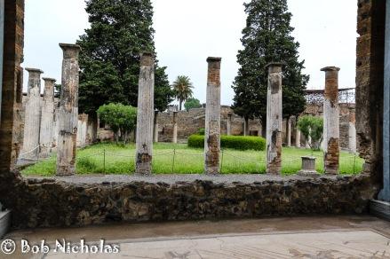 Pompeii - The Small Peristyle, House of the Faun