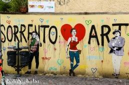 Sorrento - Graffiti or Art