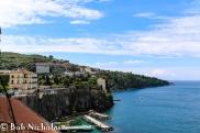 Sorrento - View From Park Villa Comunale