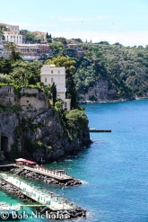 Sorrento - View From Park Villa Comunale