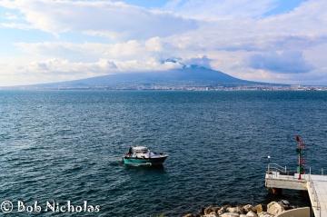 Vesuvius - From Towers Hotel, Castellamare di Stabia