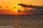 Sunset - From Towers Hotel, Castellamare di Stabia