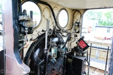 Bluebell Line - Fenchurch footplate