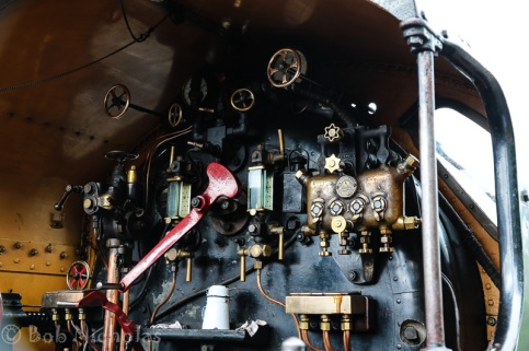 The footplate for our engine is a bit more complicated that that of Fenchurch