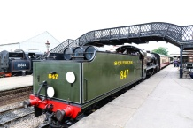 Bluebell Line - Sheffield Park - Engine 847